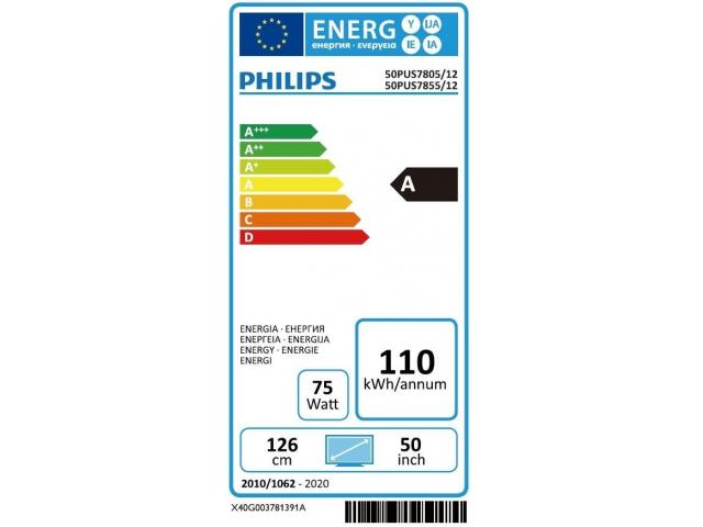 PHILIPS 50PUS7805/12  4K UHD * #5