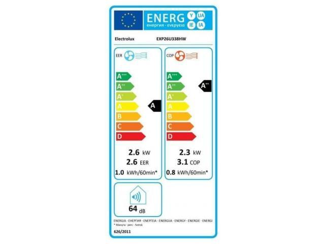 Electrolux  EXP26U338HW prenosna klimatska naprava #4