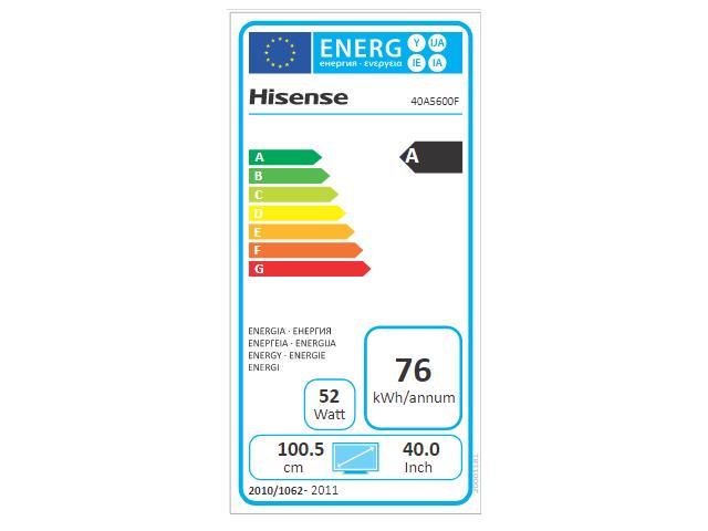 HISENSE 40A5600F  FULL HD TV #5