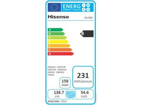HISENSE H55U8QF 4 K UHD  TV #5