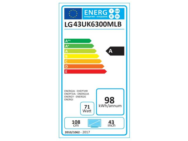 LG 43UK6300 4K UHD LED TV #5