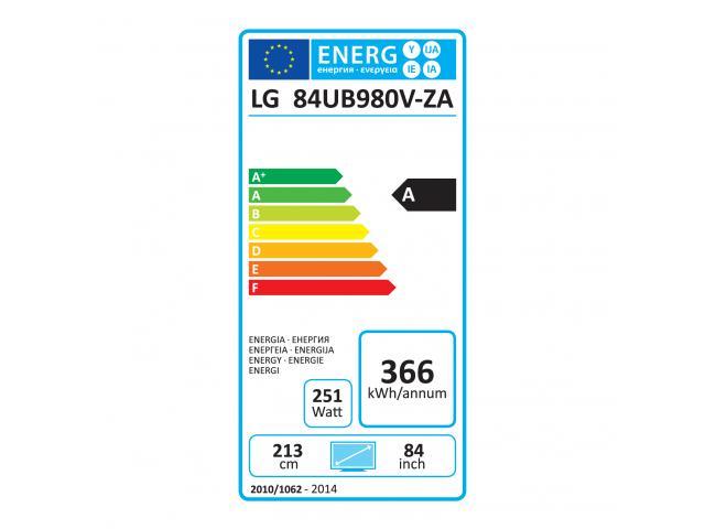 LG 84UB980V 3D 4K LED TV #5