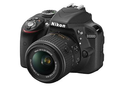 NIKON fotoaparat D3300 kit 18-55mm