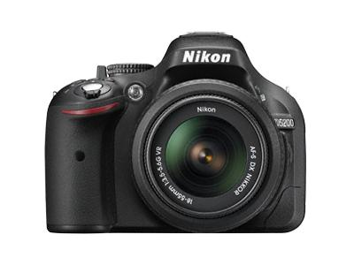 NIKON fotoaparat D5200 kit 18-105mm VR