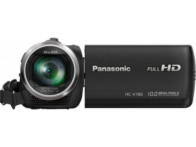 PANASONIC  HC-V180  videokamera FULL HD #5