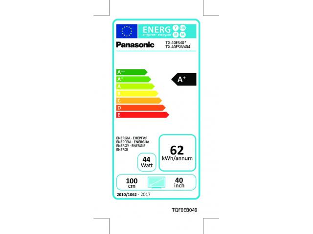 PANASONIC FULL HD TX-40ES403  LED TV #5