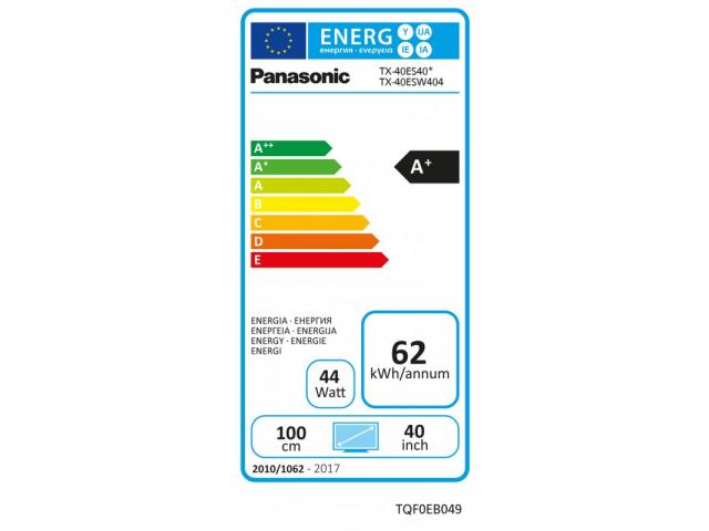 PANASONIC FULL HD TX-40ESW404  LED TV #4