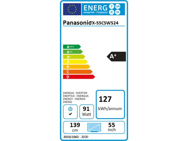 PANASONIC TX-55CSW524 SMART LED TV #5