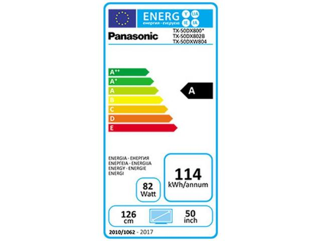 PANASONIC 4K UHD 3D TX-50DXW804  LED TV #5