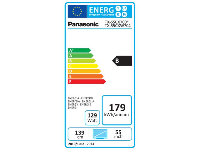 PANASONIC 4K UHD TX-55CXW704 3D LED TV #5