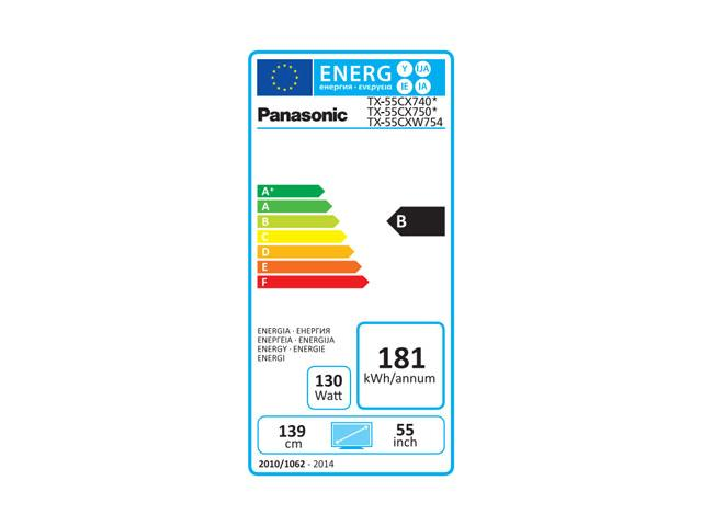 PANASONIC 4K UHD TX-55CXW754 3D LED TV #5
