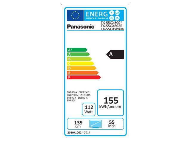 PANASONIC 4K PRO UHD TX-55CXW804 3D LED TV #5