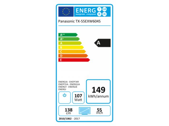 PANASONIC 4K UHD  TX-55EXW604S  LED TV SREBRN #5