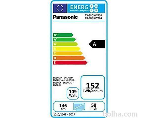 PANASONIC 4K UHD TX-58DXW734  LED TV #4