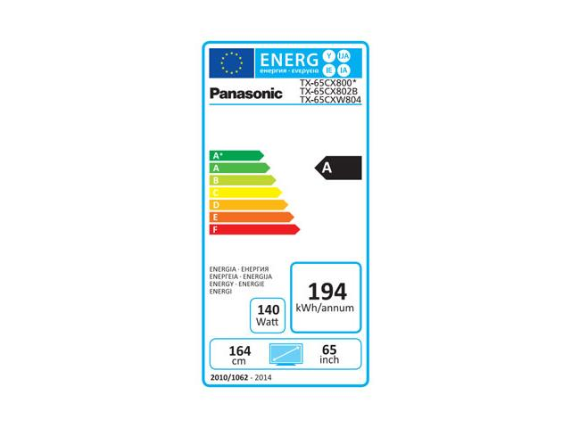 PANASONIC 4K UHD TX-65CXW804 3D LED TV #5