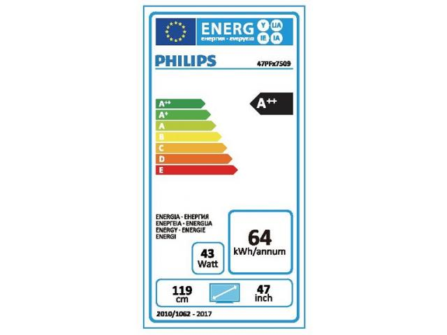 PHILIPS 47PFK7509/12 ambilight LED TV #5