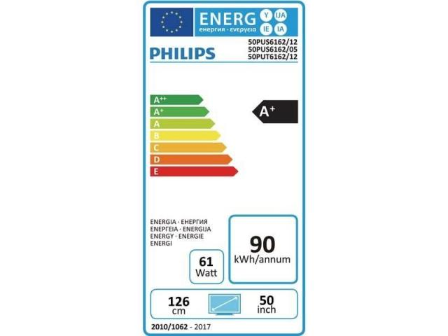 PHILIPS 50PUS6162/12  4K UHD TV #5