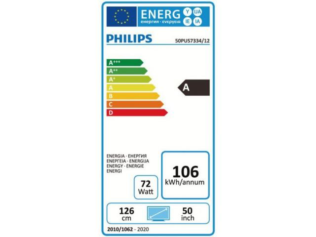PHILIPS 50PUS7334/12  4K UHD TV #5