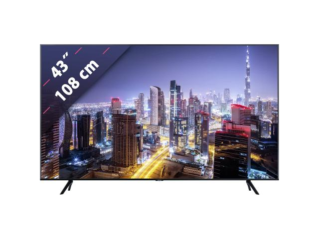 SAMSUNG UHD TV GU43TU7079 #3
