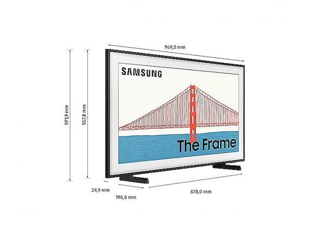 SAMSUNG QE43LS03A QLED TV The Frame Art Mode