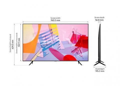 SAMSUNG QLED TV QE43Q60T