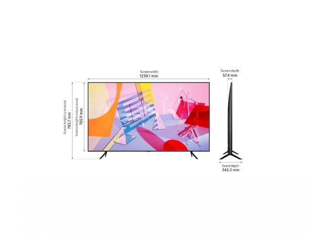 SAMSUNG QLED TV QE55Q60T