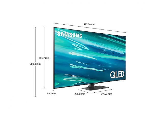 SAMSUNG QLED TV QE55Q80A