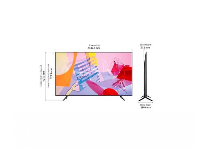 SAMSUNG QLED TV QE65Q60T *
