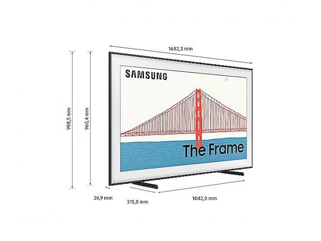 SAMSUNG QE75LS03A QLED TV The Frame Art Mode