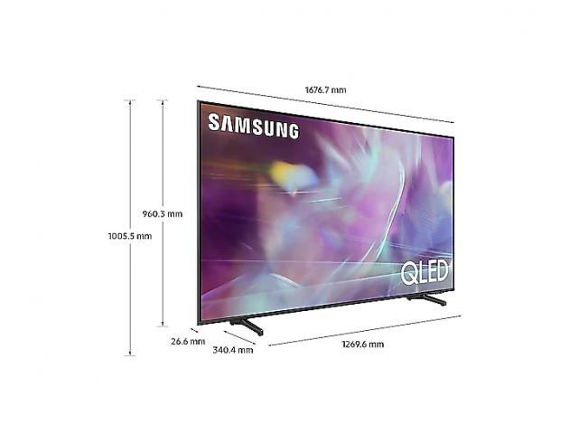 SAMSUNG QLED TV QE75Q60A
