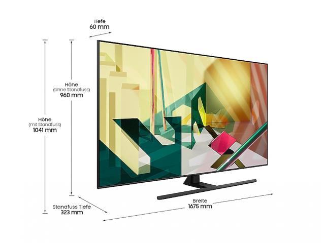 SAMSUNG QLED TV QE75Q70T *