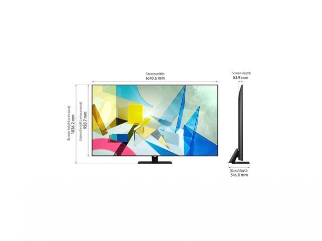 SAMSUNG QLED TV QE75Q80T