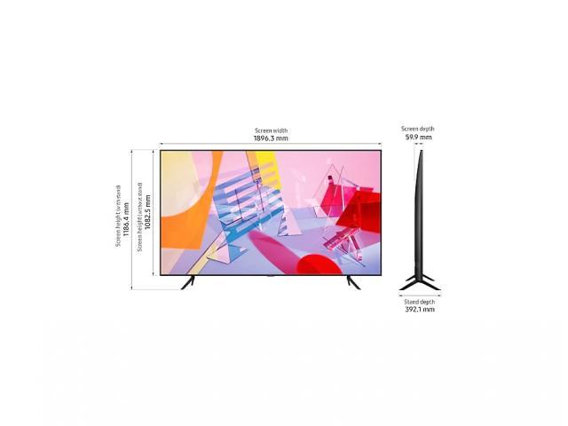 SAMSUNG QLED TV QE85Q60T