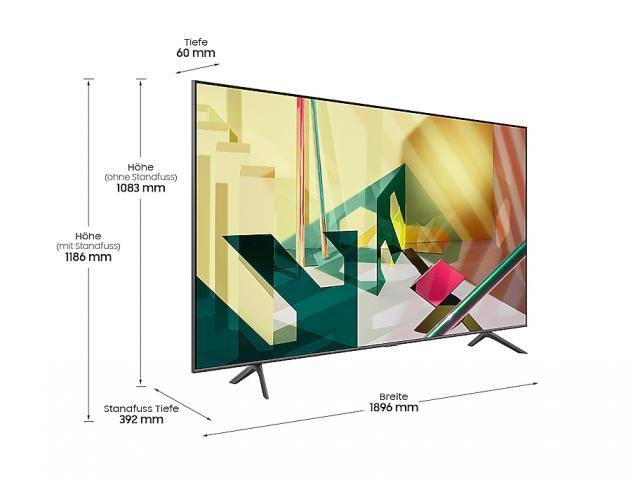 SAMSUNG QLED TV QE85Q70T