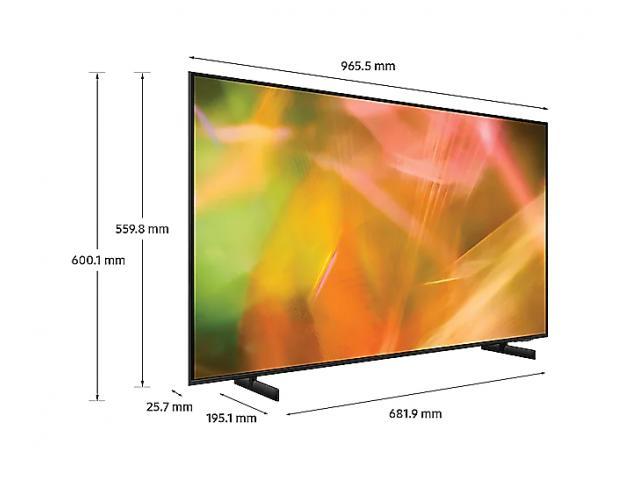 SAMSUNG UHD TV UE43AU8072