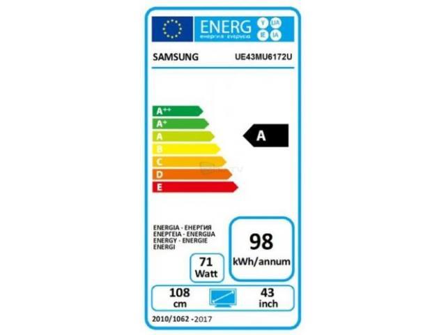SAMSUNG UE43MU6172 ULTRA HD SMART TV #5
