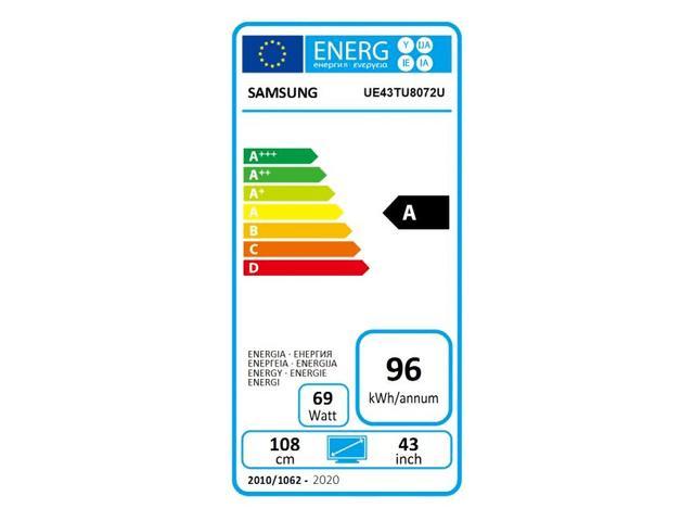 SAMSUNG UHD TV UE43TU8072 #5