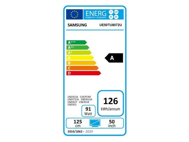 SAMSUNG UHD TV UE50TU8072 #5