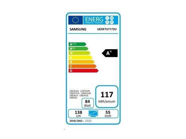 SAMSUNG UHD TV UE55TU7172 #5