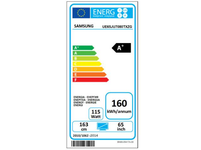 SAMSUNG UHD UE65JU7080  SMART LED TV #5