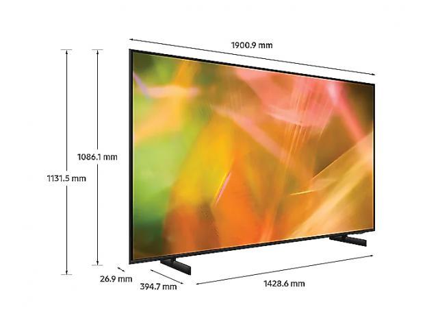 SAMSUNG UHD TV UE85AU8072