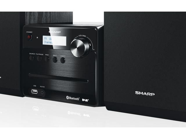 SHARP XL-B515D Micro-Soundsystem #3