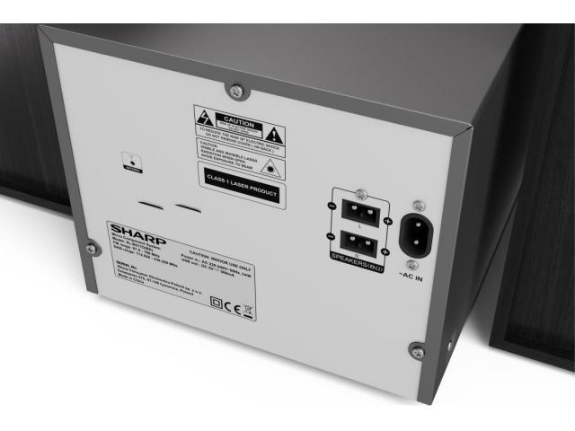 SHARP XL-B517D DAB Micro-Soundsystem #4