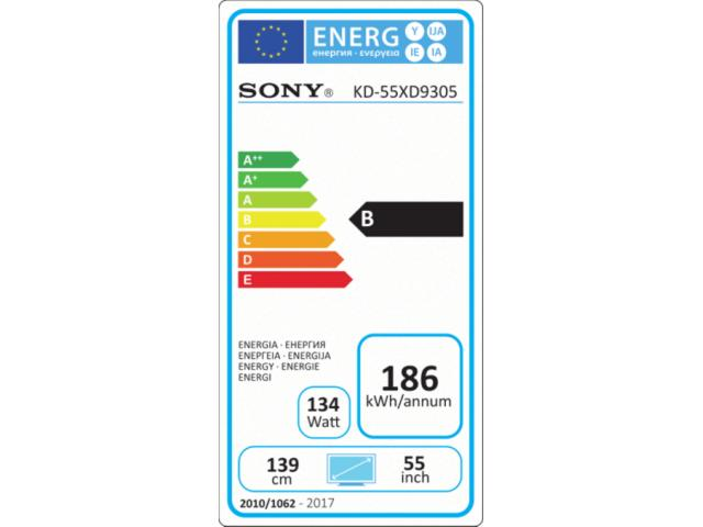 SONY KD55XD9305 3D 4K ULTRA HD LED TV #5