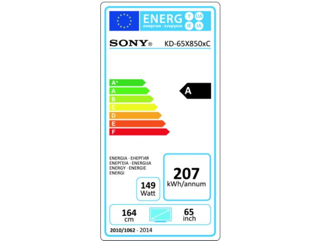 SONY KD65X8505C 3D/4K LED TV #5