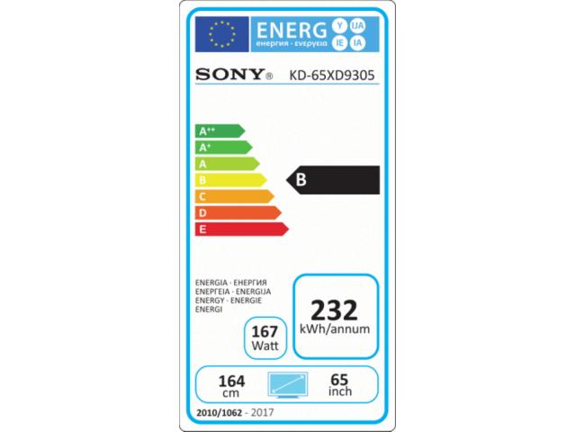 SONY KD65XD9305 3D 4K ULTRA HD LED TV #5