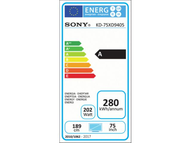 SONY KD75XD9405 3D 4K ULTRA HD LED TV #5