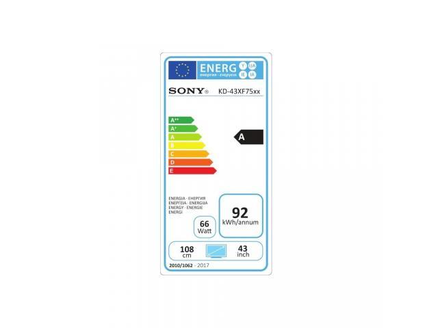 SONY KD43XF7596 4K ULTRA HD LED TV #5
