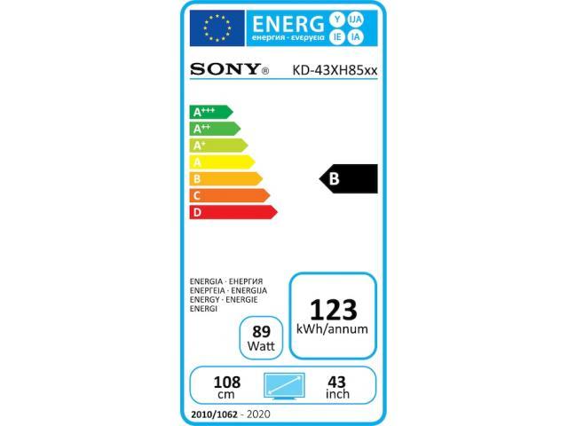 SONY KD43XH8505 4K ULTRA HD TV #5