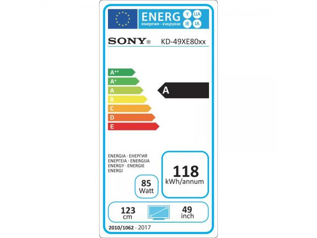 SONY KD49XE8005 4K ULTRA HD LED TV #5
